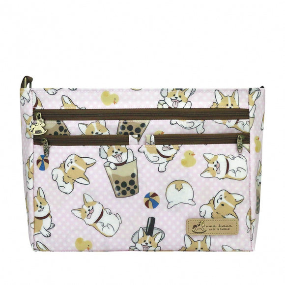 5 Zipper Crossbody Bag | UMA087 | *NEW* Corgi BBT Pink