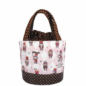 *NEW ARRIVAL* Uma hana Waterproof Round Lunch Bag | 圓便當袋 | UMA211 | Nutcracker Pink