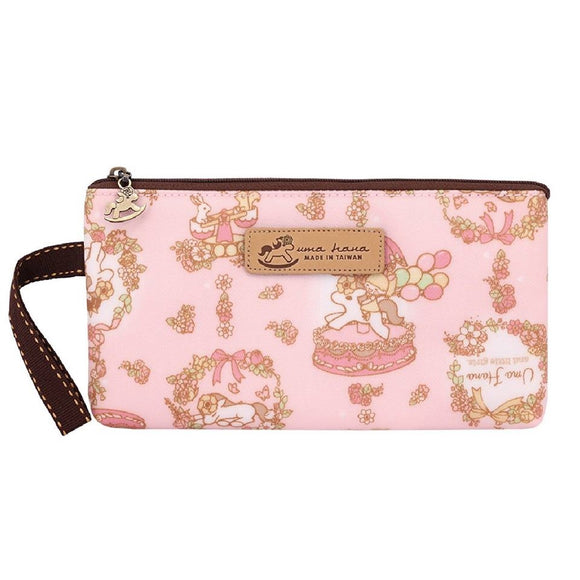 *NEW ARRIVAL* Uma hana Waterproof Nika storage Mask Pouch | 尼卡收納袋 | UMA184 | Pinto Pony Pink