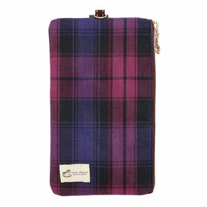 Lanyard Hp Pouch 6 Inch | UMA121CH | Checkered Purple