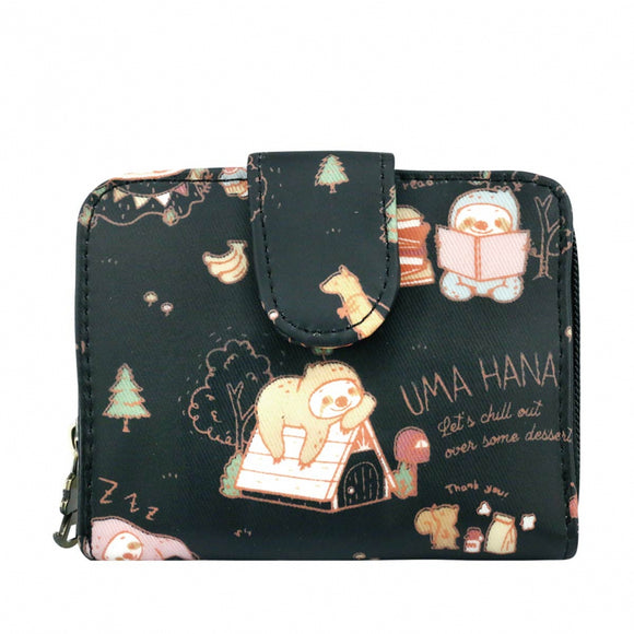 Red Packets/ Bankbook Pouch | UMA021 | Sloth Black