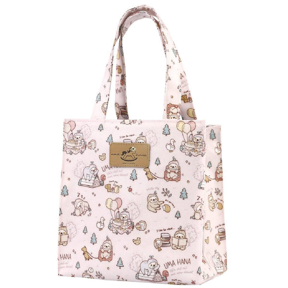Button Chain Card Holder (Horizontal) | UMA013 | Sloth Pink