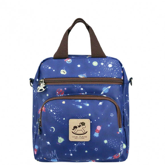 Caramel Triple Usage Bag | UMA226 | Spaceship Blue