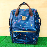 Uma Hana Waterproof Frame Backpack (L) | 開口大後背 | UMA123 | Spaceship Navy