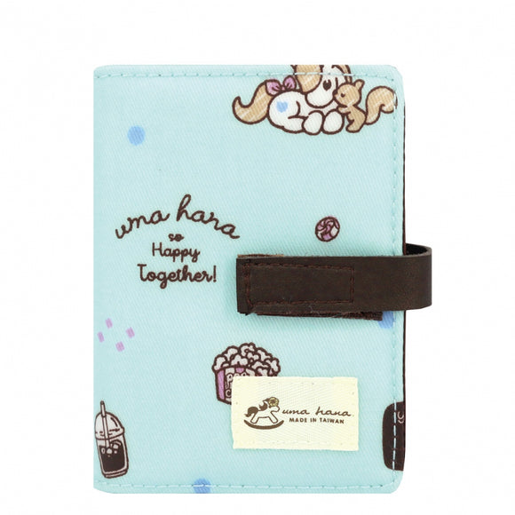 Transparent Card Holder | UMA015 | Sweetheart Lake Blue
