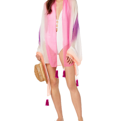 I.N.C. Ombré Sarong Cover-Up & Wrap One Size - VendaStores