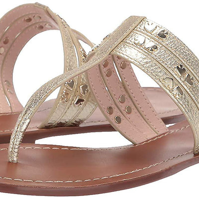 Kate Spade New York Carol Sandal in Pale Gold - VendaStores