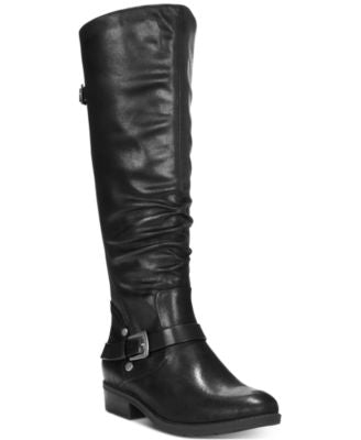 Baretraps Yanessa Closed Toe Knee High Riding Boots - VendaStores