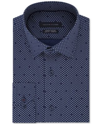Tommy Hilfiger Men's Slim-Fit Stretch Shirt
