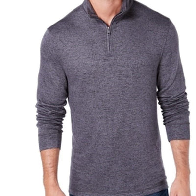 Club Room Men's Regular-Fit 1/4-Zip Merino Sweater - VendaStores