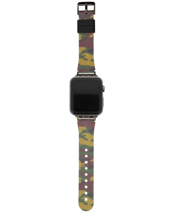 I.N.C. Women's Camouflage Silicone Apple Watch Strap 38mm