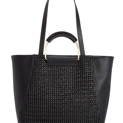 INC Ajae Bangle Crochet Tote - VendaStores