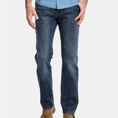 Wrangler Greensboro Regular Straight Leg Jeans - VendaStores