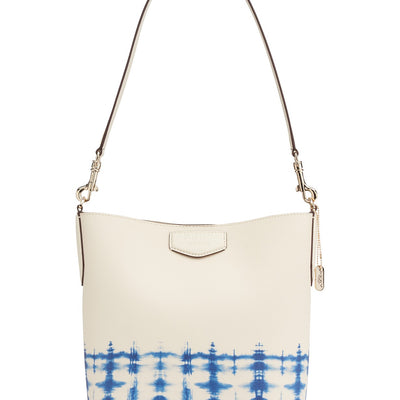 DKNY Sullivan Medium white Leather Bucket Bag, MSRP $299 - VendaStores