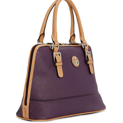 Giani Bernini Saffiano Dome Satchel - VendaStores