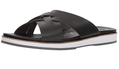 Calvin Klein Men's Dagan Slide Sandal Black 7 M - VendaStores