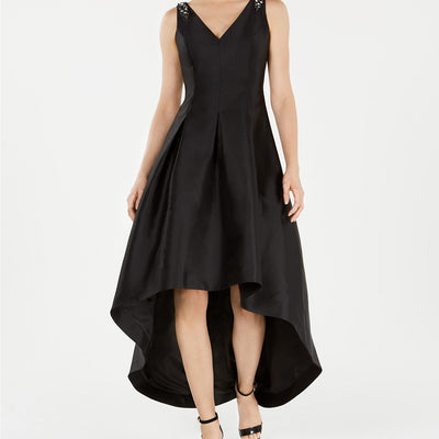 Calvin Klein Embellished High-Low Gown Size 4