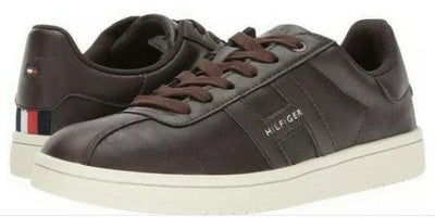 Tommy Hilfiger Men's Lyor Sneaker Dark Brown - VendaStores