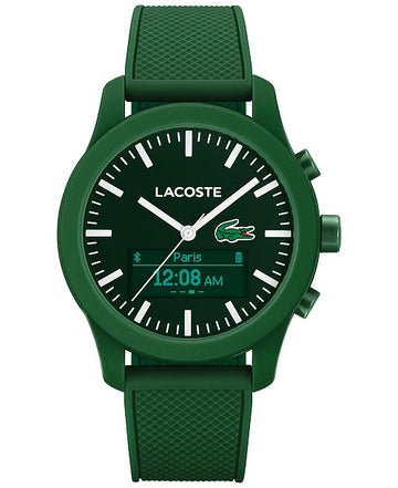 LACOSTE Women's Analog-Digital Contact Green Smart Watch 44mm