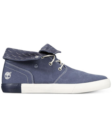 Timberland Men's Newport Bay Canvas Roll-Top Sneaker