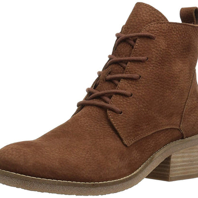 Lucky Brand Womens Tamela Leather Ankle Fashion Boots | 8.5 M US - VendaStores