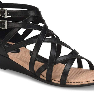 BOC Mimi Faux Leather Strappy Gladiator Sandals - VendaStores