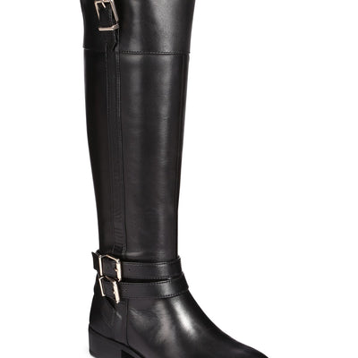 INC Frankii Buckle Riding Knee High Boots - VendaStores