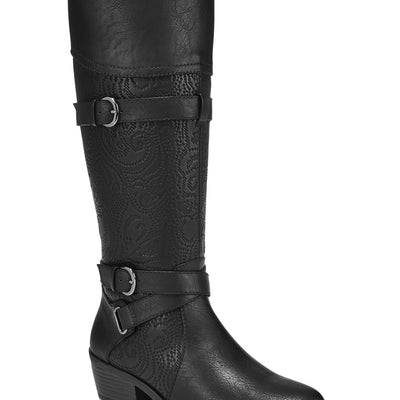 Easy Street Women's Kelsa Wide-Calf Riding Boots - VendaStores