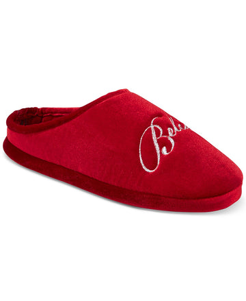 Charter Club Women's Believe Clog Slippers