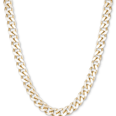 DKNY Large Link Gold Collar Necklace - VendaStores