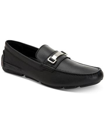 Calvin Klein Men's Maddix Textured Drivers with Bit