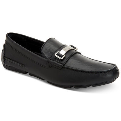 Calvin Klein Men's Maddix Textured Drivers with Bit - VendaStores