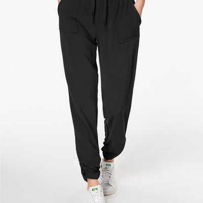 Hippie Rose Juniors' Ruched Jogger Pants - VendaStores