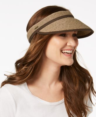 Nine West Packable Visor Brown Combination - VendaStores