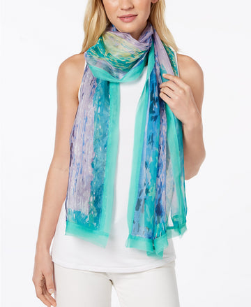 Cejon Summer Splash Oversized Scarf Seafoam