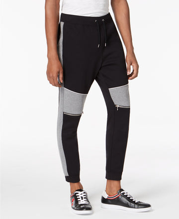 I-N-C Men's Quilted Athletic Track Pants