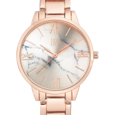 I.N.C. Women's Rose Gold-Tone Bracelet Watch 38mm - VendaStores