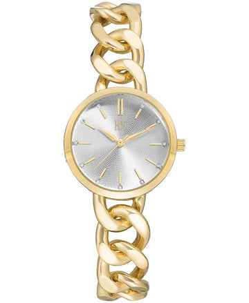 I.N.C. Women's Gold-Tone Chain Bracelet Watch 30mm