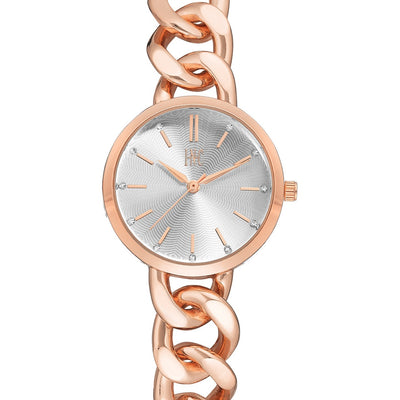 I.N.C. Women's Rose Gold-Tone Chain Bracelet Watch 30mm - VendaStores
