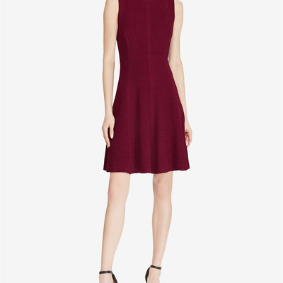 American Living Jacquard Fit & Flare Dress - VendaStores