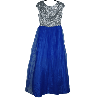 B Darlin Juniors' Sequined Chiffon Gown | Size 10P | New with defect - VendaStores