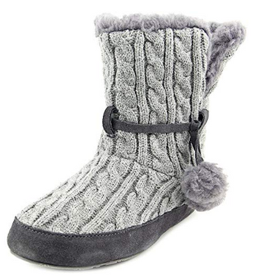 BEARPAW Womens Trista Boot Slippers 7 (US) - VendaStores