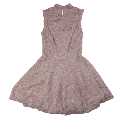 City Studios Juniors' Lace Fit & Flare Dress - VendaStores