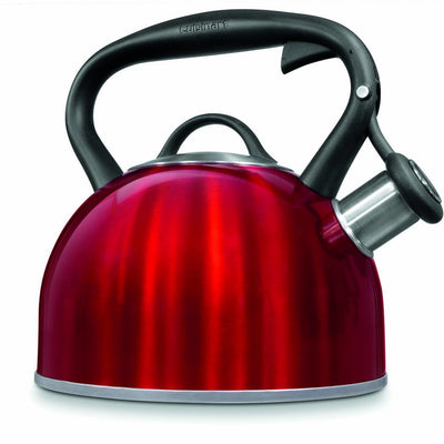 Cuisinart Valor Tea Kettle in Metallic Red - 1.9L - VendaStores