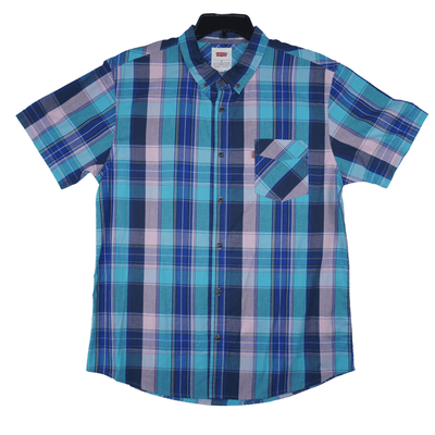 Levi's Olton Poplin Plaid Shirt