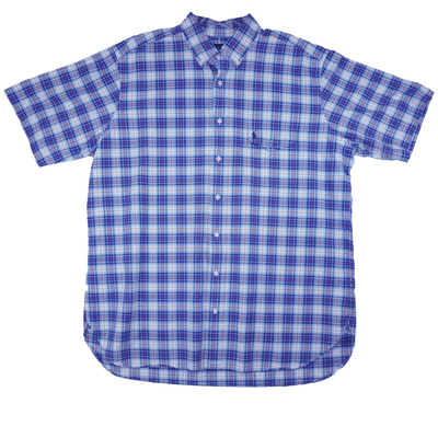 Ralph Lauren Oxford Plaid Long-Sleeve Shirt