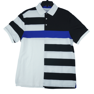 Club Room Men's Colorblock Stripes Polo Shirt