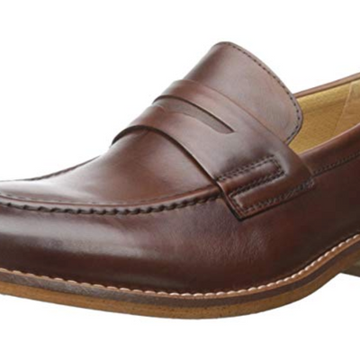 G.H. Bass & Co. Men's Conner Weejuns  Penny Loafer British Tan - VendaStores