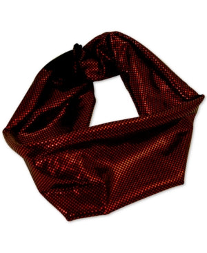 GUESS Glitzy Headwrap in Red - VendaStores