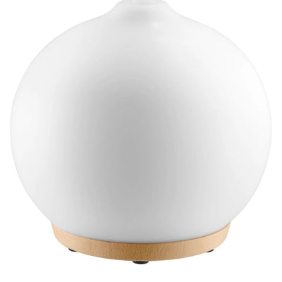 Homedics Adore Ultrasonic Diffuser (Clear White) - VendaStores